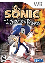 Sonic and the Secret Rings box art