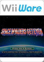 Space Invaders: Get Even box art