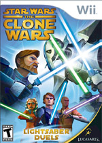 Star Wars The Clone Wars: Lightsaber Duels box art