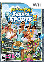 Summer Sports 2: Island Sports Party box art