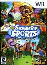 Summer Sports: Paradise Island box art