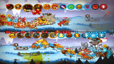 Swords & Soldiers screenshot