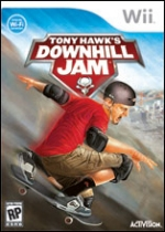 Tony Hawk's Downhill Jam box
