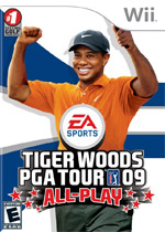Tiger Woods PGA Tour 09 All-Play box art