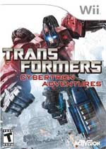 Transformers: Cybertron Adventures box art