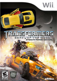 Transformers: Dark of the Moon – Stealth Force Edition Box Art
