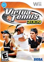 Virtua Tennis 2009 box art