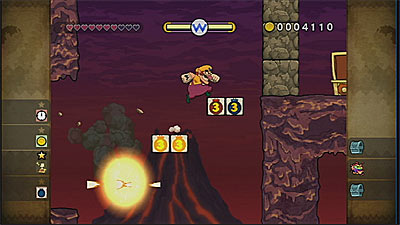 Wario Land: Shake It! screenshot