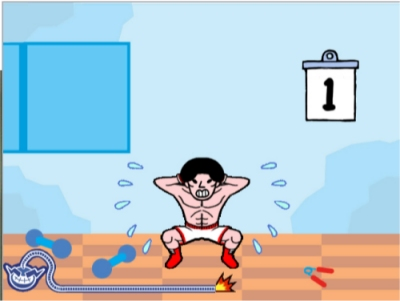 WarioWare: Smooth Moves screenshot