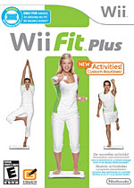 Wii Fit Plus box art