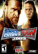 WWE Smackdown! vs Raw 2009 box art