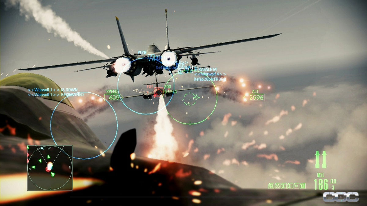 Ace Combat: Assault Horizon Review for Xbox 360 - Cheat Code