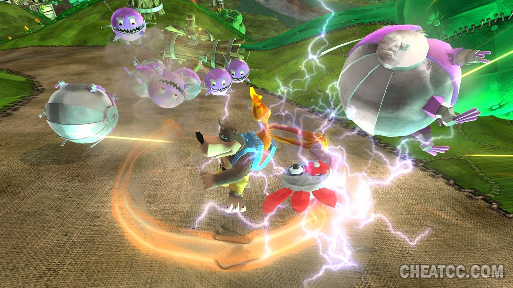 Banjo Kazooie: Nuts & Bolts Hands-On Preview for Xbox 360 (X360)
