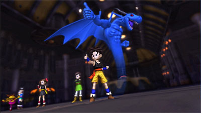 Blue Dragon screenshot
