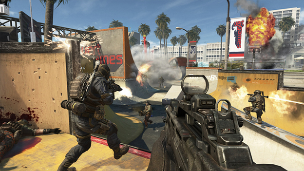 Call of Duty: Black Ops 2 - Uprising Screenshot