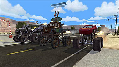 Cars Mater-National screenshot