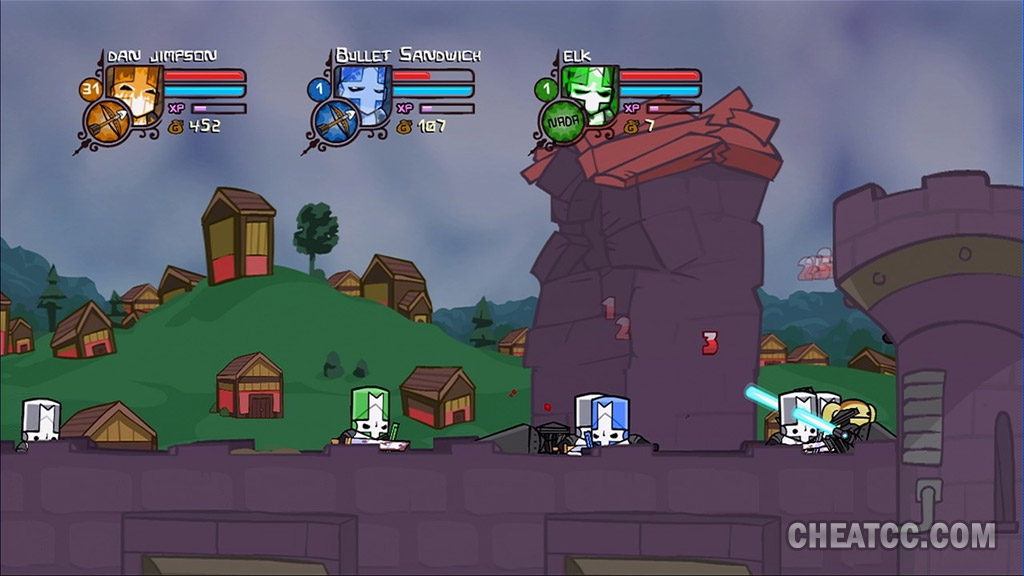 Castle Crashers Review For Xbox 360 X360
