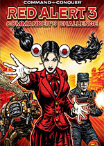 Command & Conquer: Red Alert 3 - Commander's Challenge box art