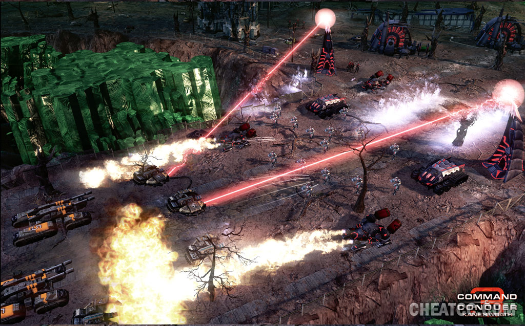 command and conquer kanes rache maps
