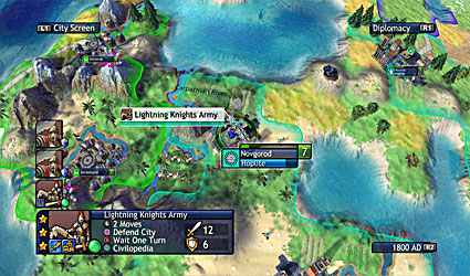 Civilization Revolution screenshot