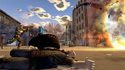 Crackdown screenshot