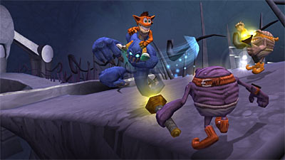 Crash Bandicoot: Mind Over Mutant screenshot