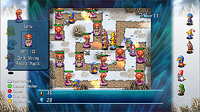 Crystal Defenders screenshot