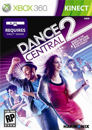 Dance Central 2 Box Art