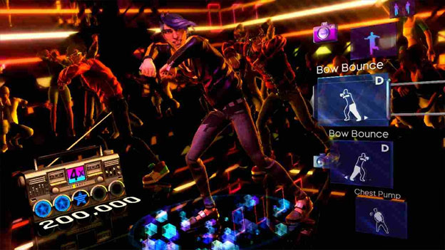 Dance Central screenshot