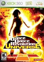 Dance Dance Revolution Universe box art