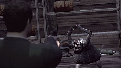 Deadly Premonition screenshot
