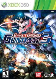 Dynasty Warriors: Gundam 3 Box Art