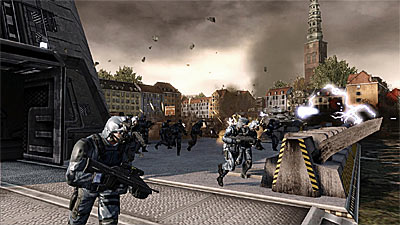 Tom Clancy's EndWar screenshot