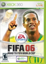 FIFA '06 Road to the World Cup box art