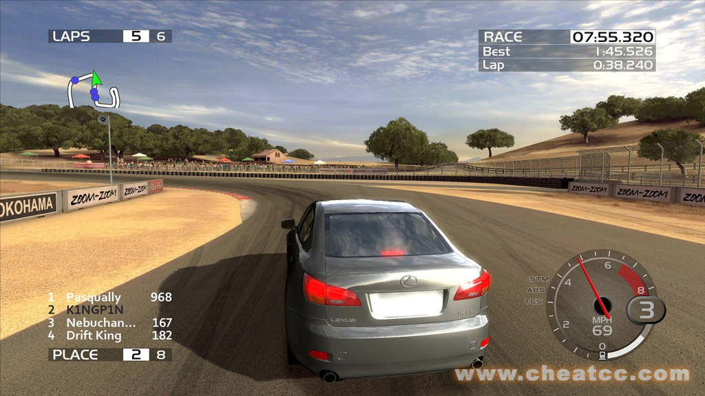 Forza motorsport 2 (xbox 360) let's play 1001 games episode.