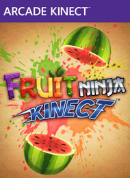 Fruit Ninja Kinect Box Art
