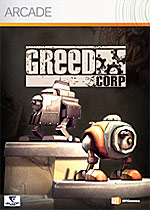 Greed Corp. box art
