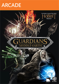 The Lord of the Rings: Guardians of Middle-earth Box Art