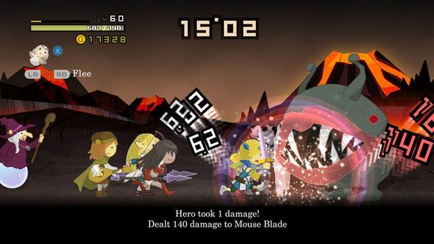 Half-Minute Hero: Super Mega Neo Climax Screenshot