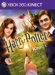 Harry Potter for Kinect Box Art