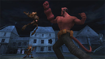 Hellboy screenshot