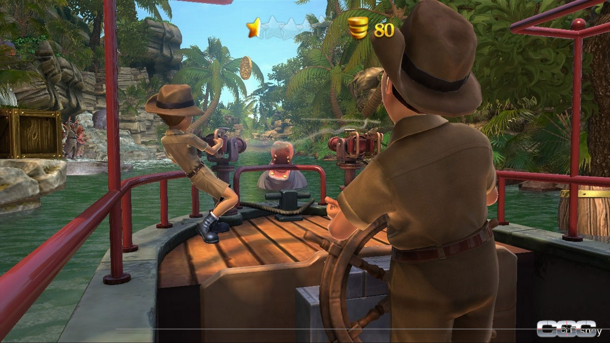Kinect: Disneyland Adventures Review for Xbox 360 - Cheat