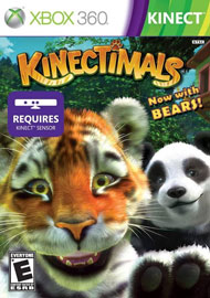Kinectimals: Now With Bears! Box Art