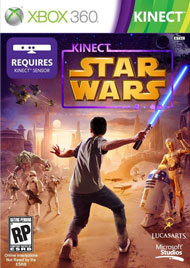 Kinect Star Wars Box Art