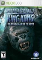 Peter Jackson's King Kong box art