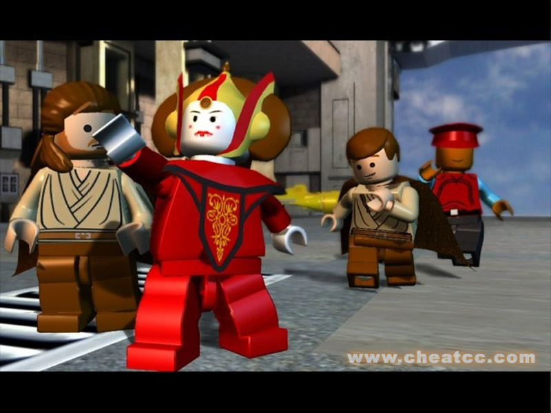 New Lego Games For Ps3 : Lego star wars the complete saga review for playstation