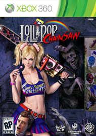Lollipop Chainsaw Box Art