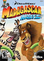 Madagascar Kartz box art