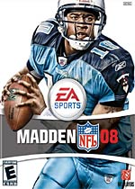 Madden NFL 08 box art