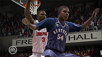 NCAA March Madness 08 screenshot